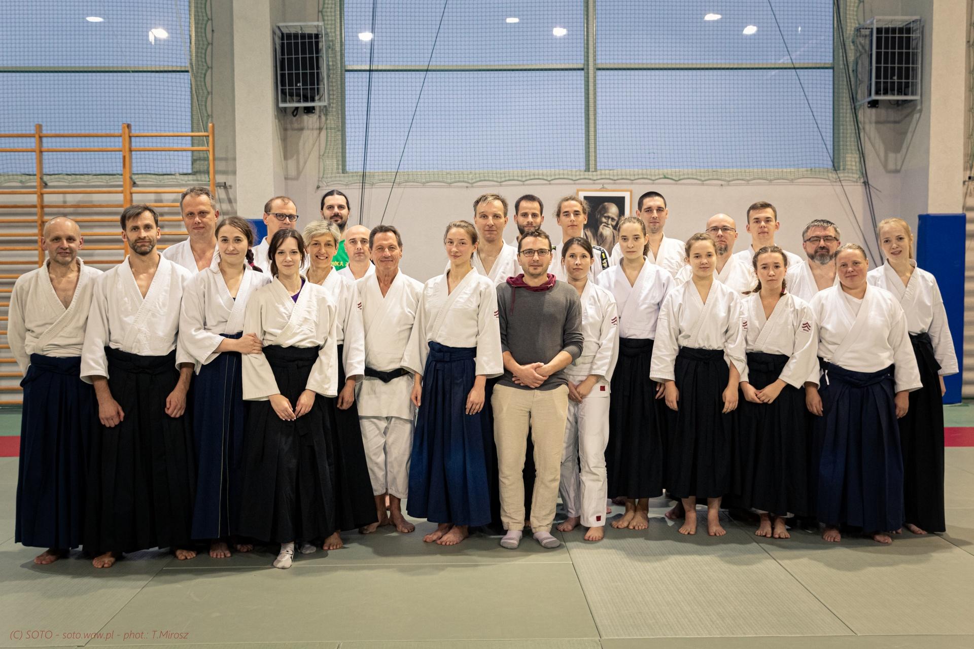 Staż Aikido – Ch.Tissier Shihan 8 Dan – Suchy Las 2019