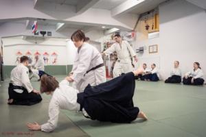 Staż Aikido Egzamin 6 Kyu SOTO 20201017 02